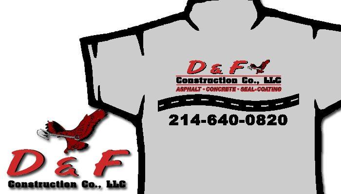 D&F Construction T-Shirts