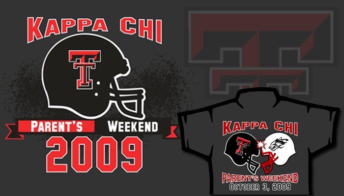 Texas Tech T-Shirts | Kappa Chi Parent Weekend