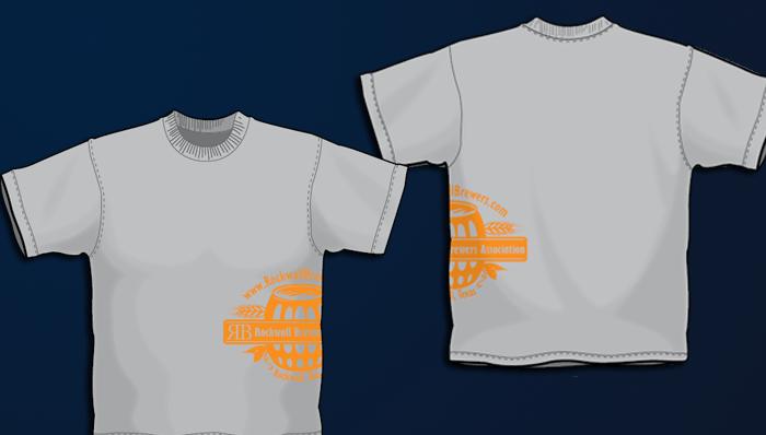 T shirts rockwall brewers screen printing custom for Non profit t shirt printing