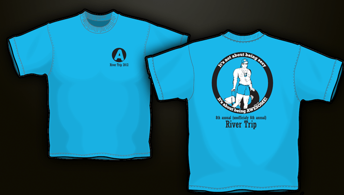 Rockwall t shirts and screen printing river trip 2012 for Non profit t shirt printing