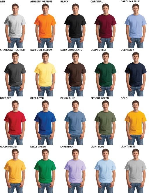 Hanes Beefy-T Blowout