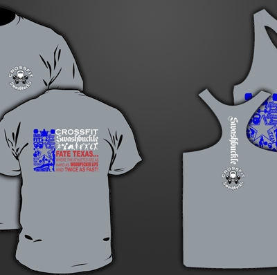 Crossfit Swashbuckle Shirts and Tanks