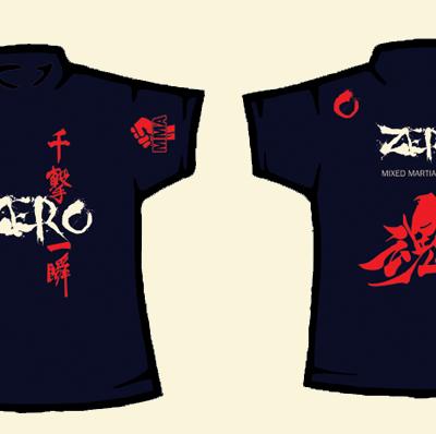 Custom Fight T-Shirt Zero Dojo