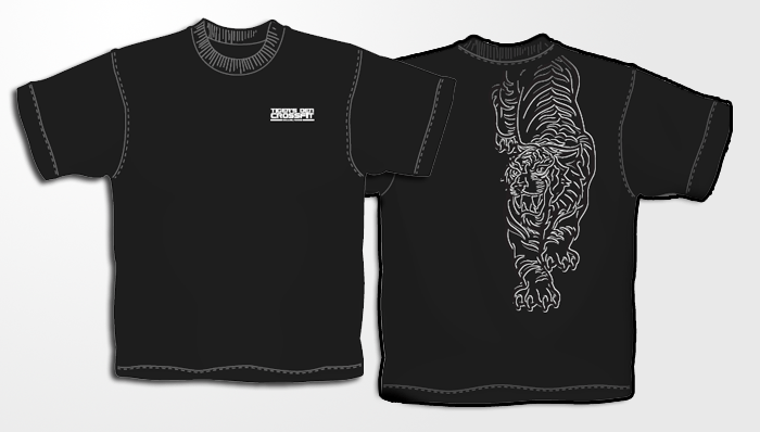 Crossfit T-Shirts Tigers Den Dallas