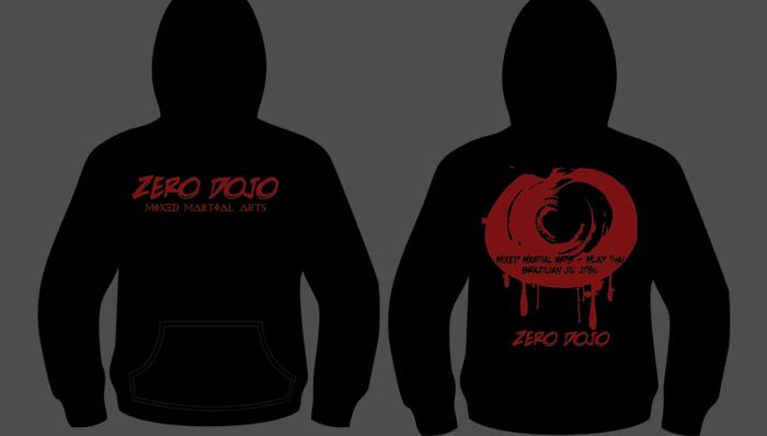 Custom Hoodie – Zero Dojo