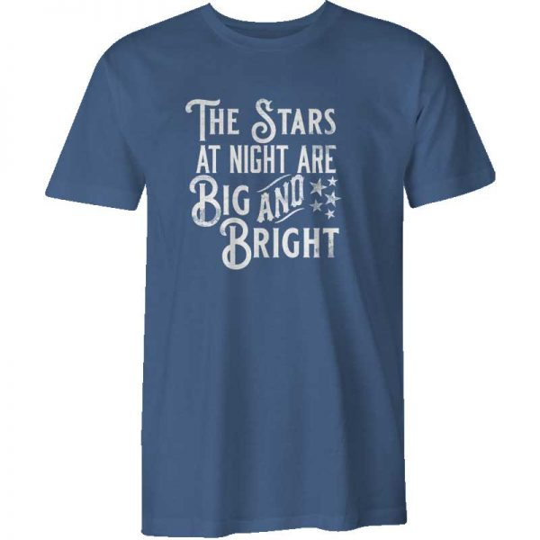 Texas Shirt Stars at Night